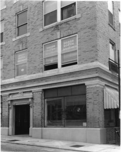 Turner & Wood Insurance Building in 1953
