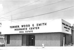 Turner, Wood & Smith Insurance building in 1974